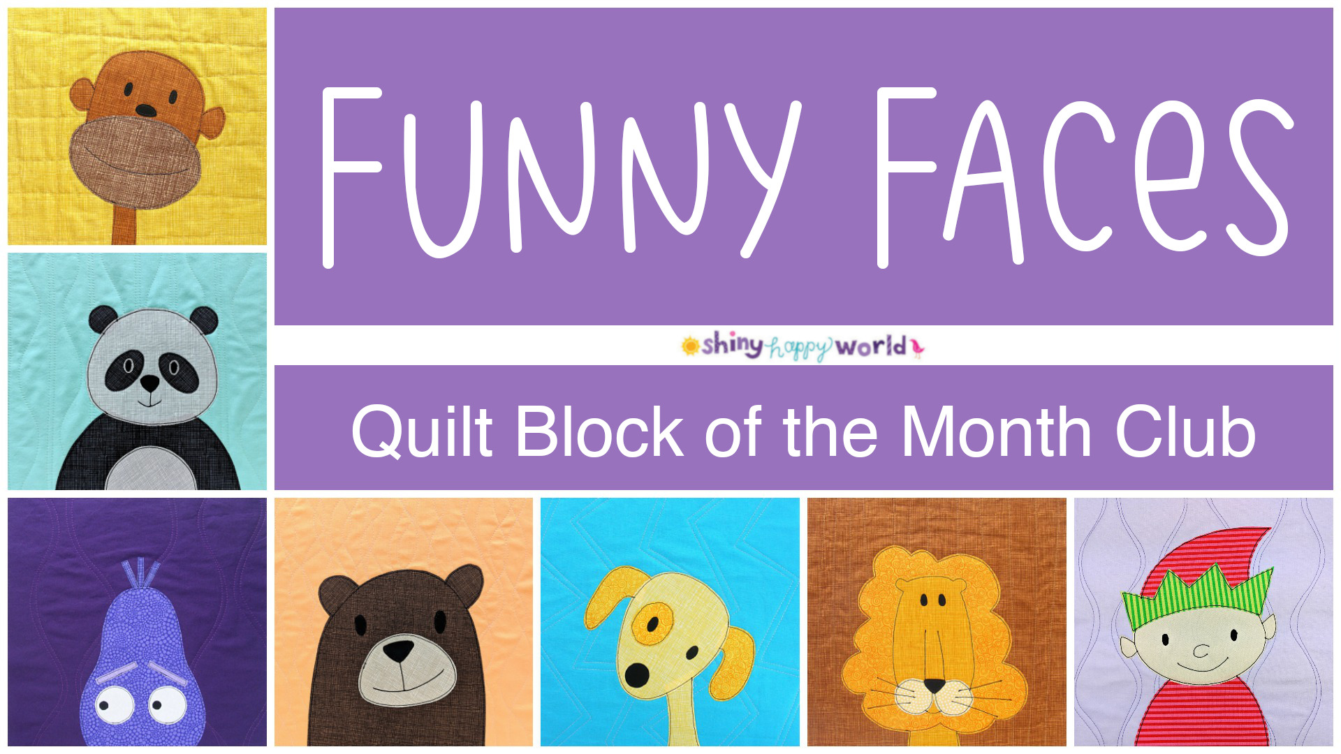 Quilt Block Of The Month Club Com.Funny Faces Quilt Block Of The Month Club Mp4