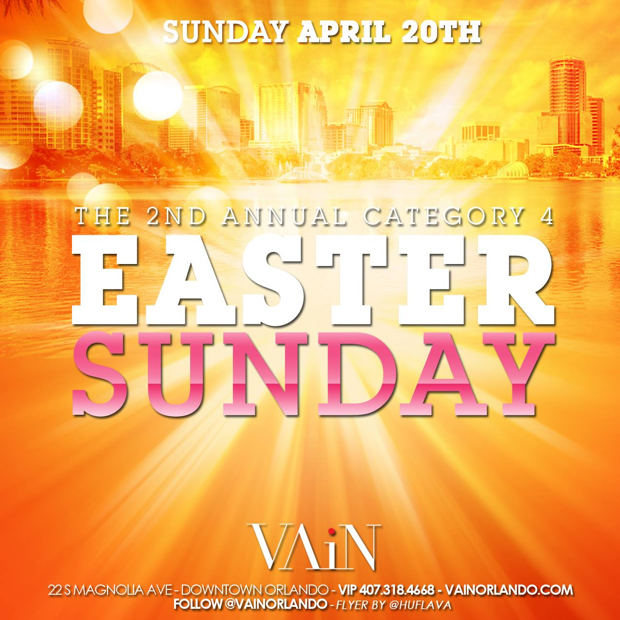 Easter Sunday Bash