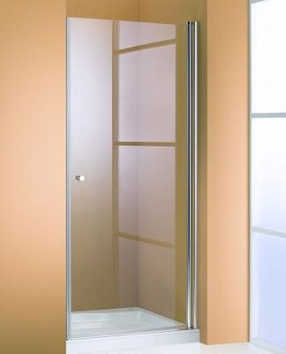 Hüppe 501 design Rett dusjvegg, 90 cm