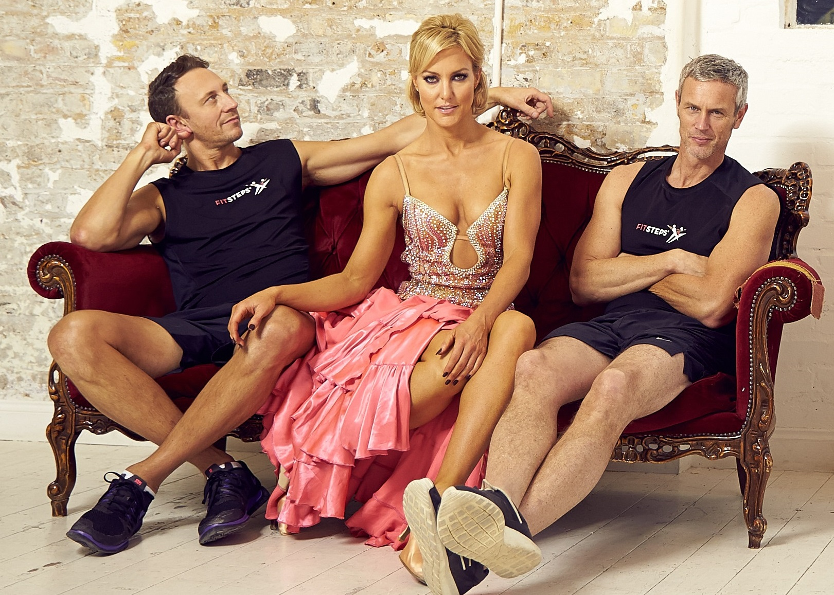 Natalie Lowe, Ian Waite and Mark Foster
