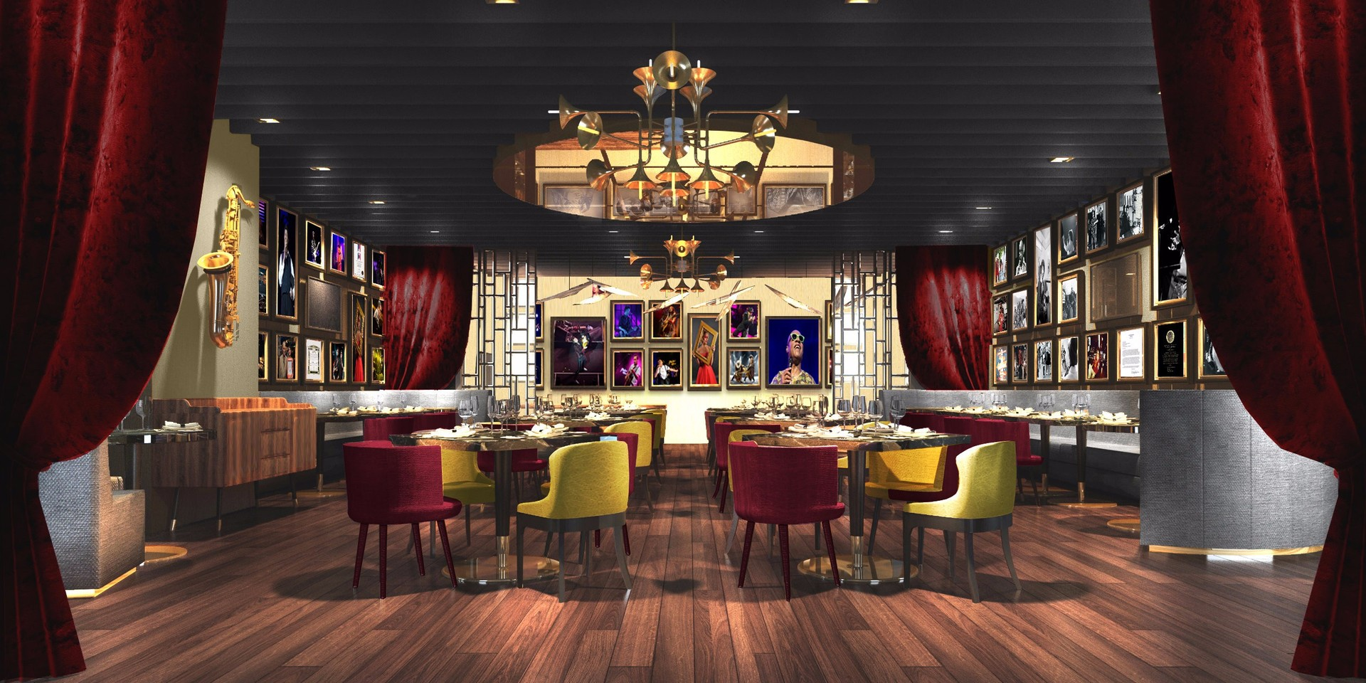 Montreux Jazz Café opens in Singapore at Pan Pacific Orchard