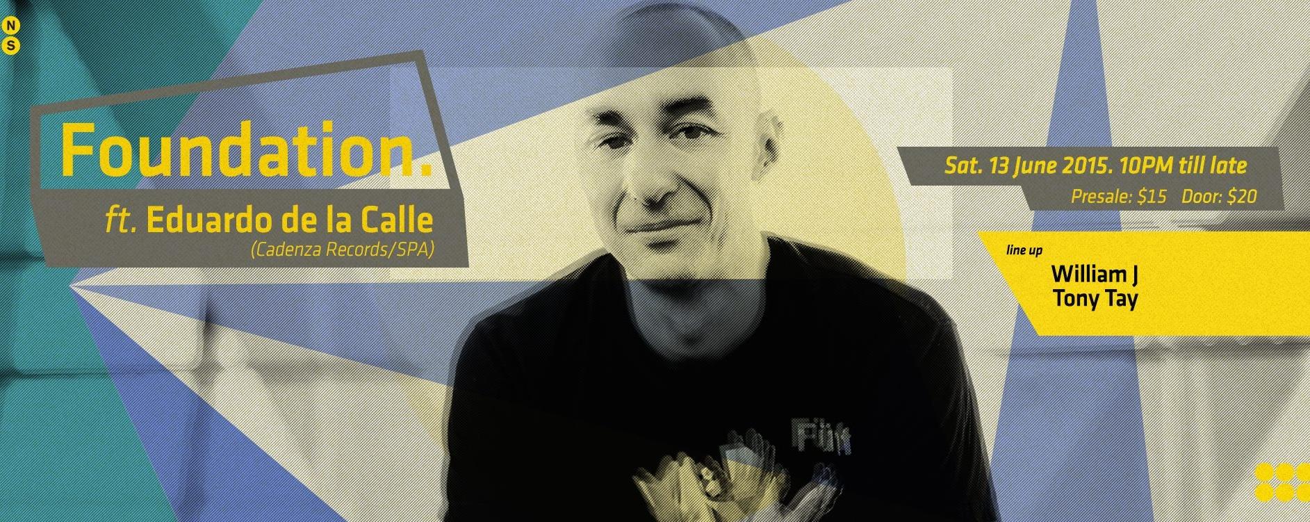 Foundation ft. Eduardo De La Calle