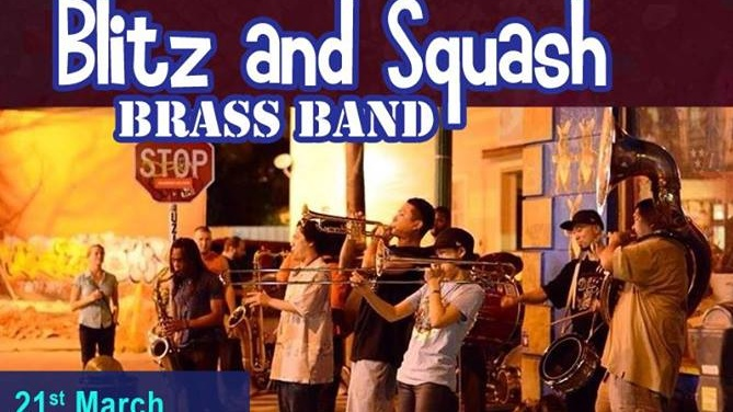 Blitz & Squash Brass Band (all the way from Japan)