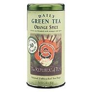 Orange Spice Green Tea from The Republic of Tea