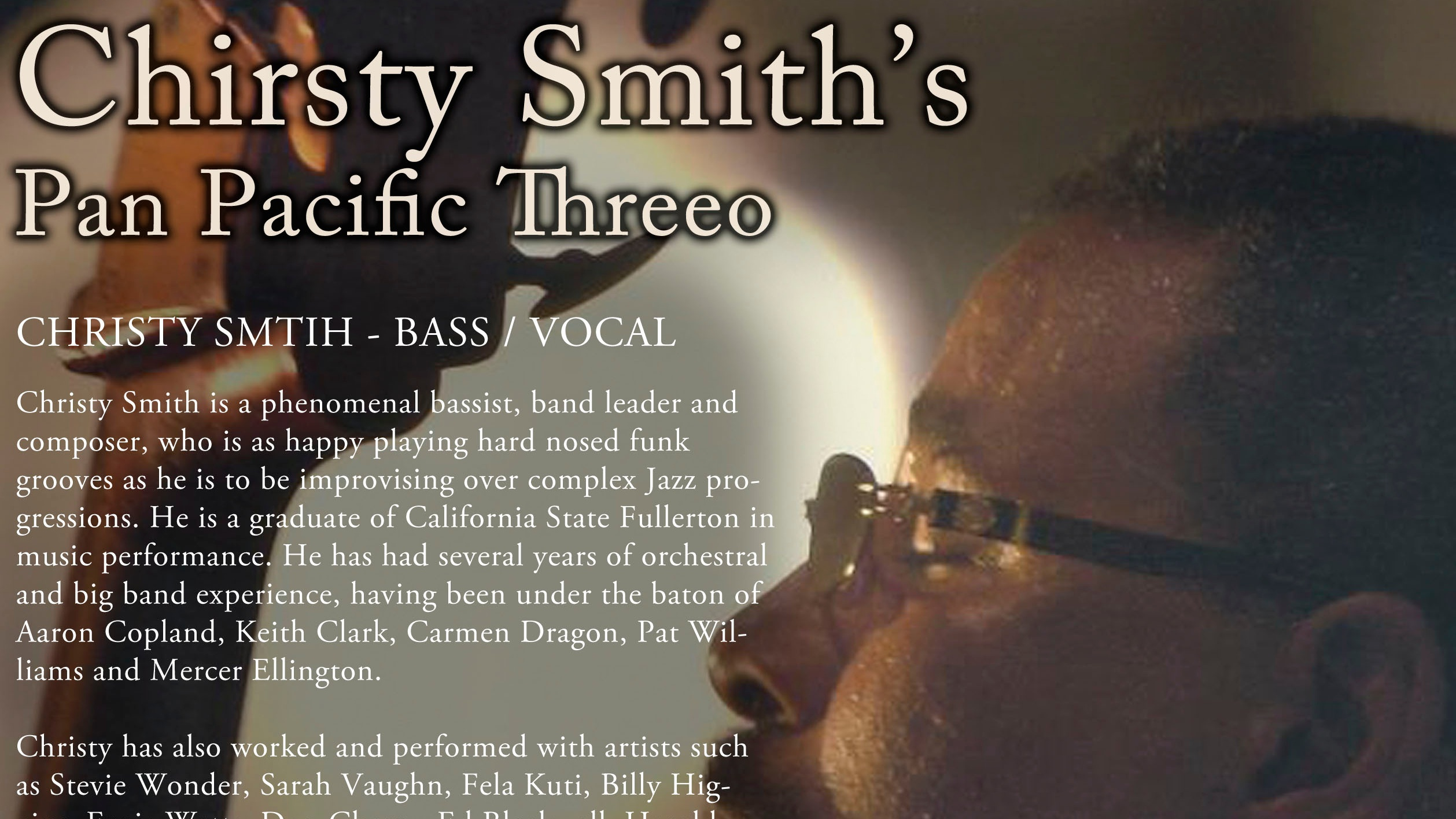 Christy Smith Trio