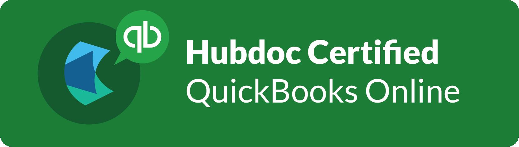 Hubdoc QuickBooks Online Certification