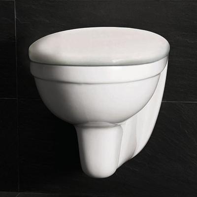 Wall Toalett, med toalettsete