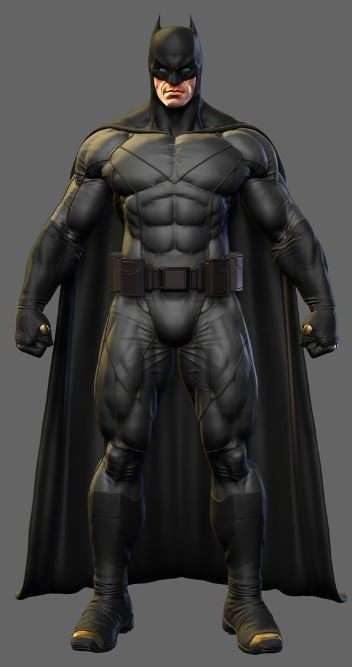 batman 3d cuerpo entero
