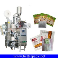 herbal tea bag packing machine tea bag packaging machine with outer envelope from Golden Tips Tea