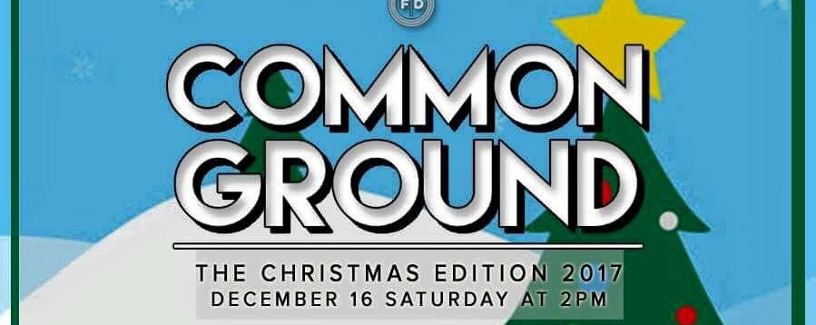 Common Ground: The Christmas Edition
