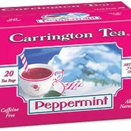 Peppermint from Carrington Tea