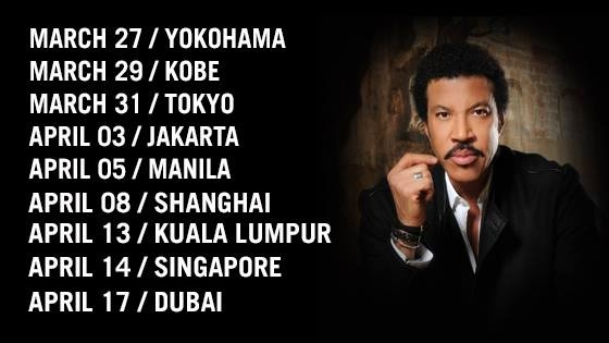 """LIONEL RICHIE """"ALL THE HITS ALL NIGHT LONG"""""""
