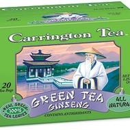 Green Tea Ginseng from Carrington Tea