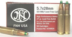 FNH 5.7x28mm Green Tip (500 Rounds)