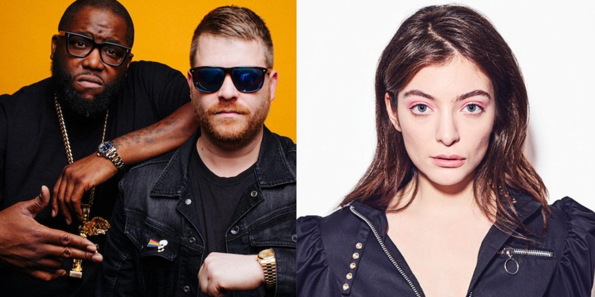 Run The Jewels release remix of Lorde's 'Supercut' – listen
