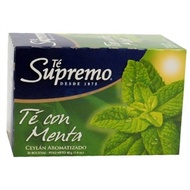 Tea with Mint Flavor from Te Supremo