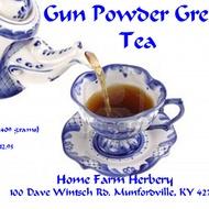 Gunpowder Green tea from Home Farm Herbery