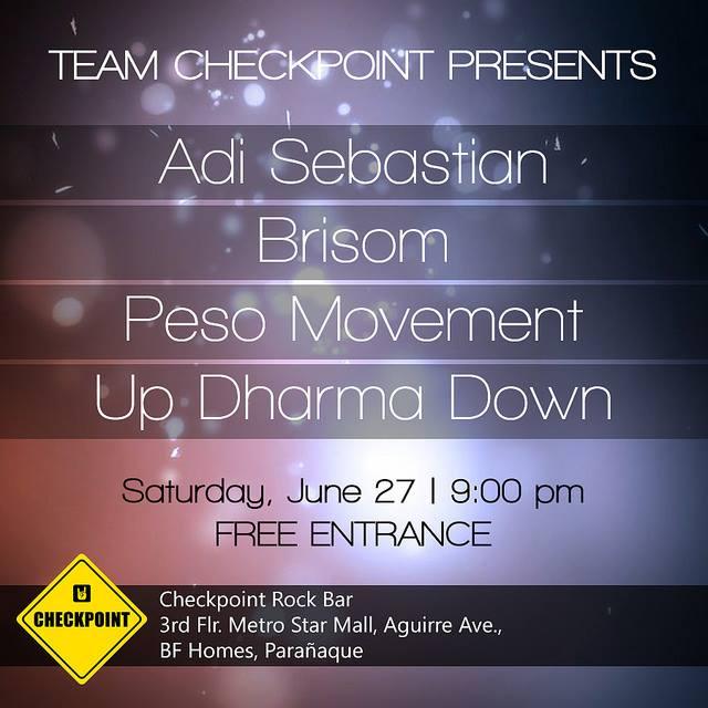 Team Checkpoint presents...