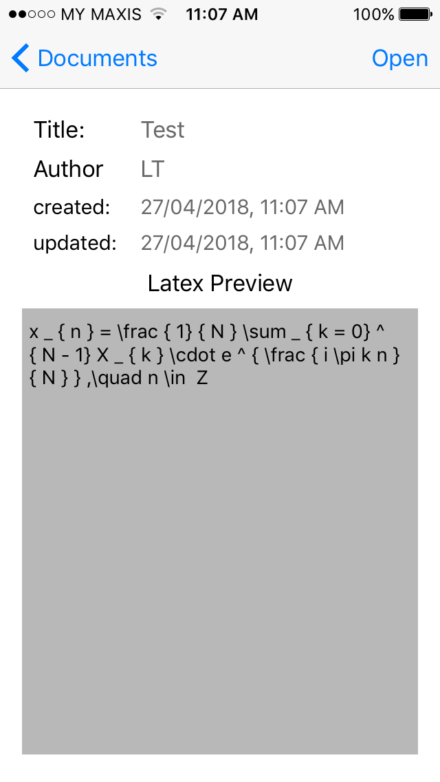 Are there any tools to help transcribe mathematical formulae