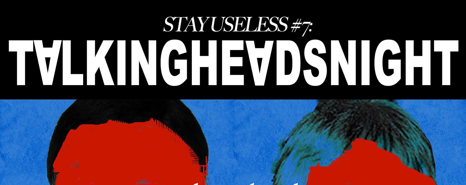 Talking Heads Night: Same As It Ever Was