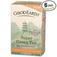 Super Green Tea from Good Earth Teas