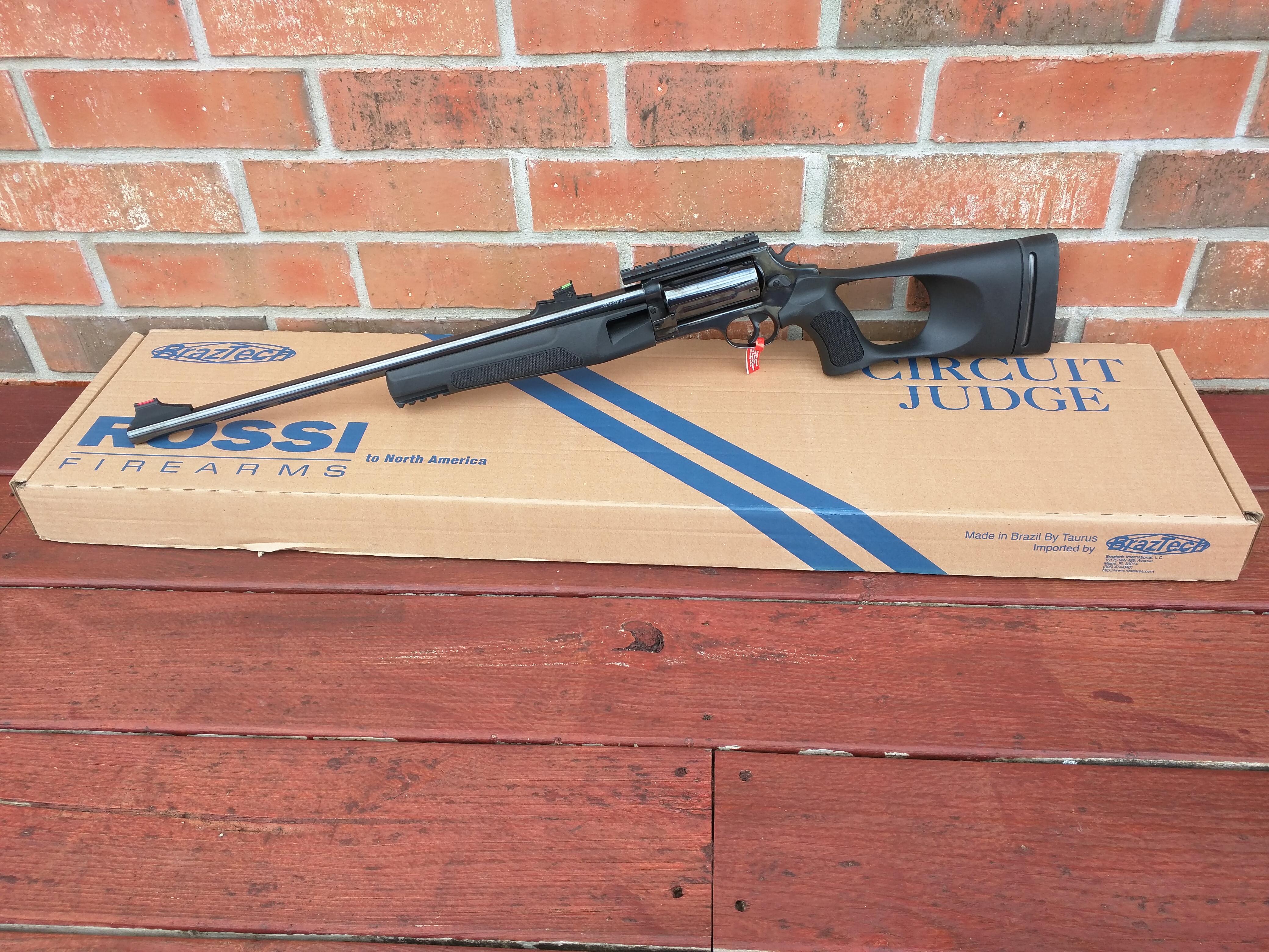 Rossi Rossi Circuit Judge 410 Ga/ 45 Long Colt Revolver
