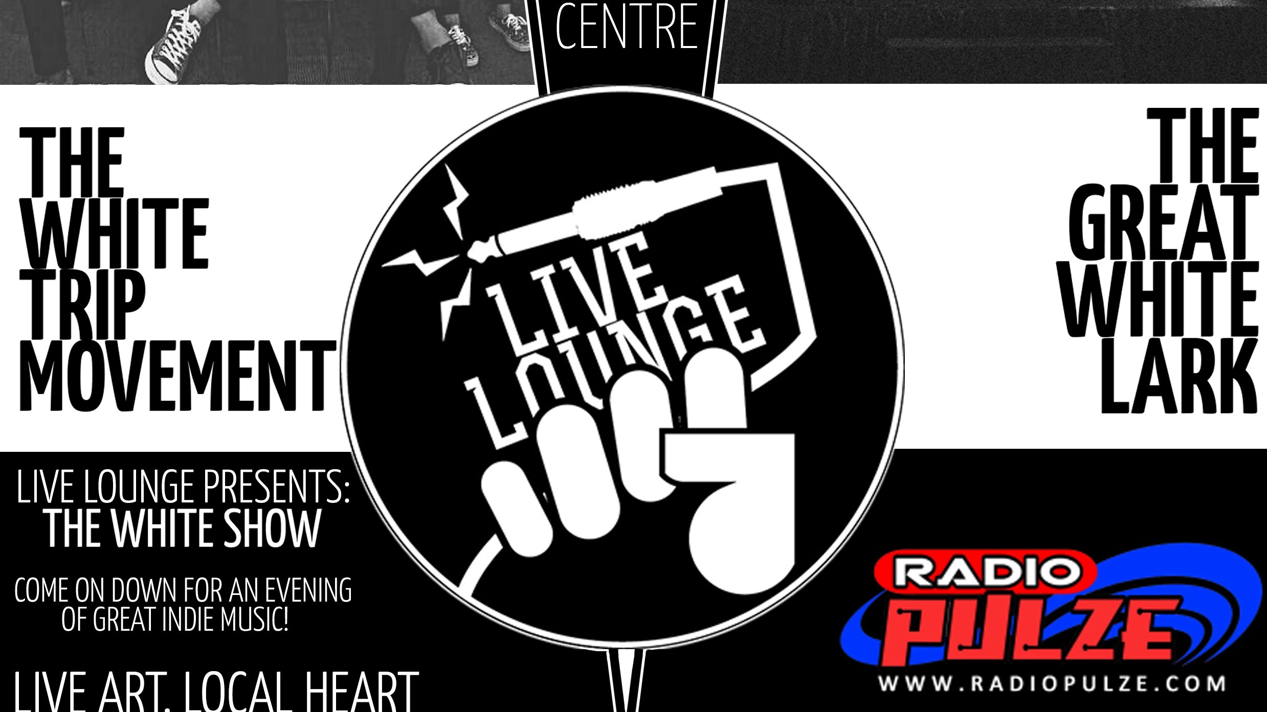 LIVE LOUNGE | SHOW TWO [The Great White Lark, The White Trip Movement]