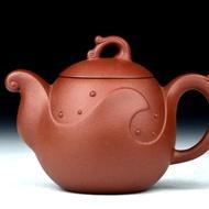 Zhulang teapot (Di cao qing - Yixing) from MissTeapots