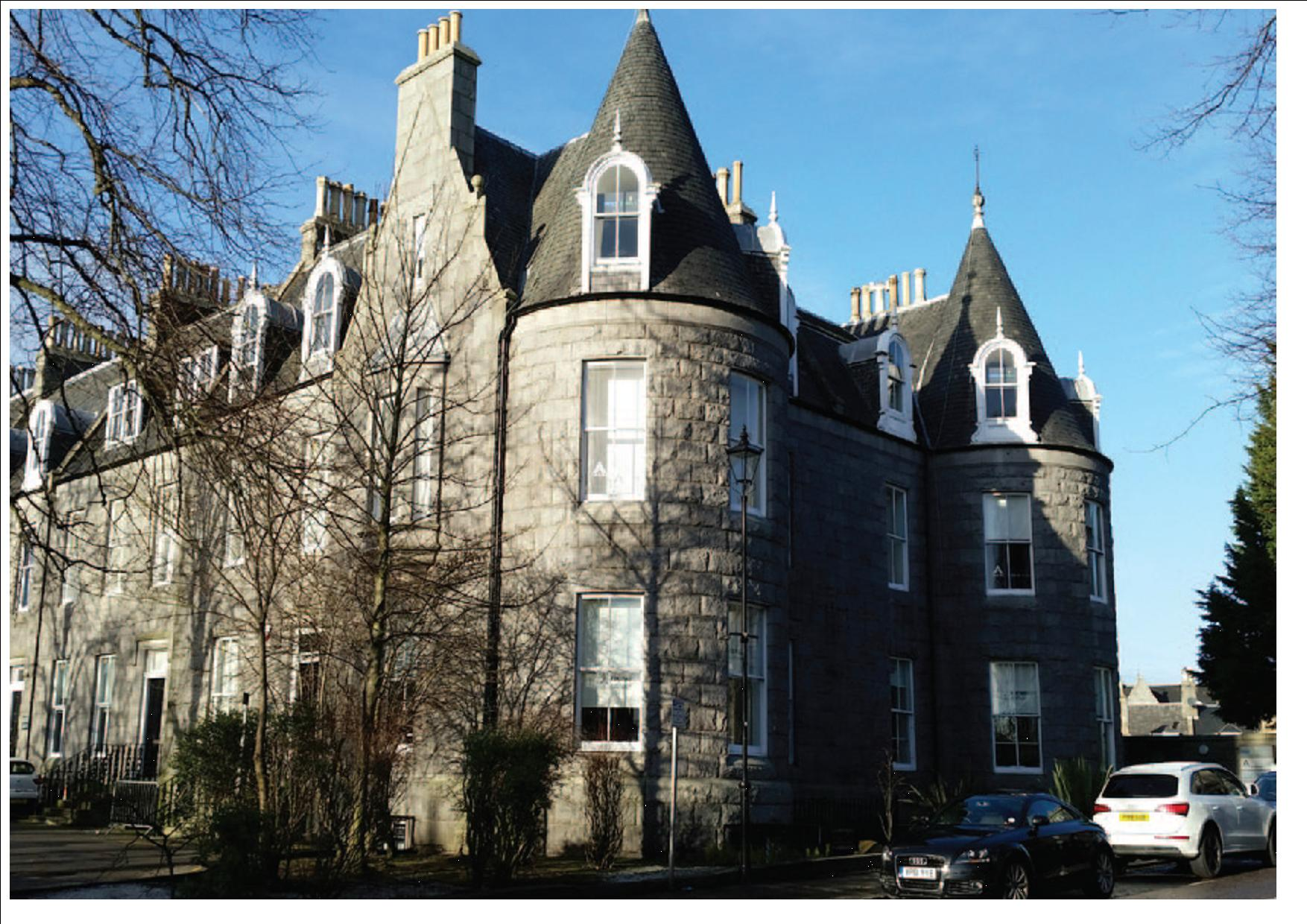 property to let suite 4 top floor 1 3 albyn terrace