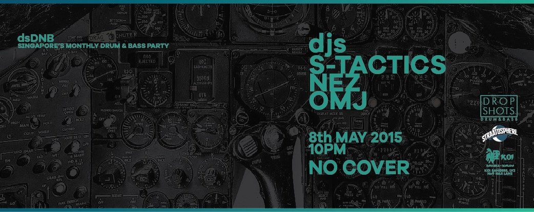DROP SHOTS: Drum & Bass // 8 MAY 2015