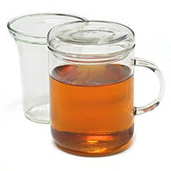 Zyclo tea cup with lid and glass strainer from AKA Dwelling
