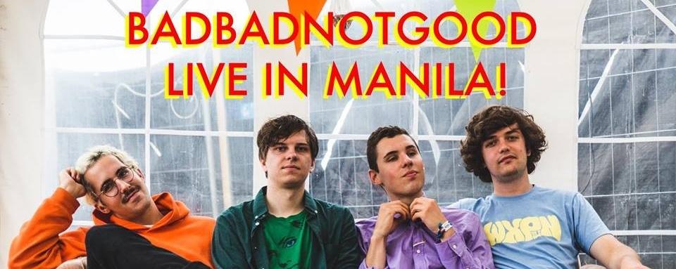 BadBadNotGood Live in Manila!