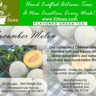 Cucumber Melon Green Tea from 52teas