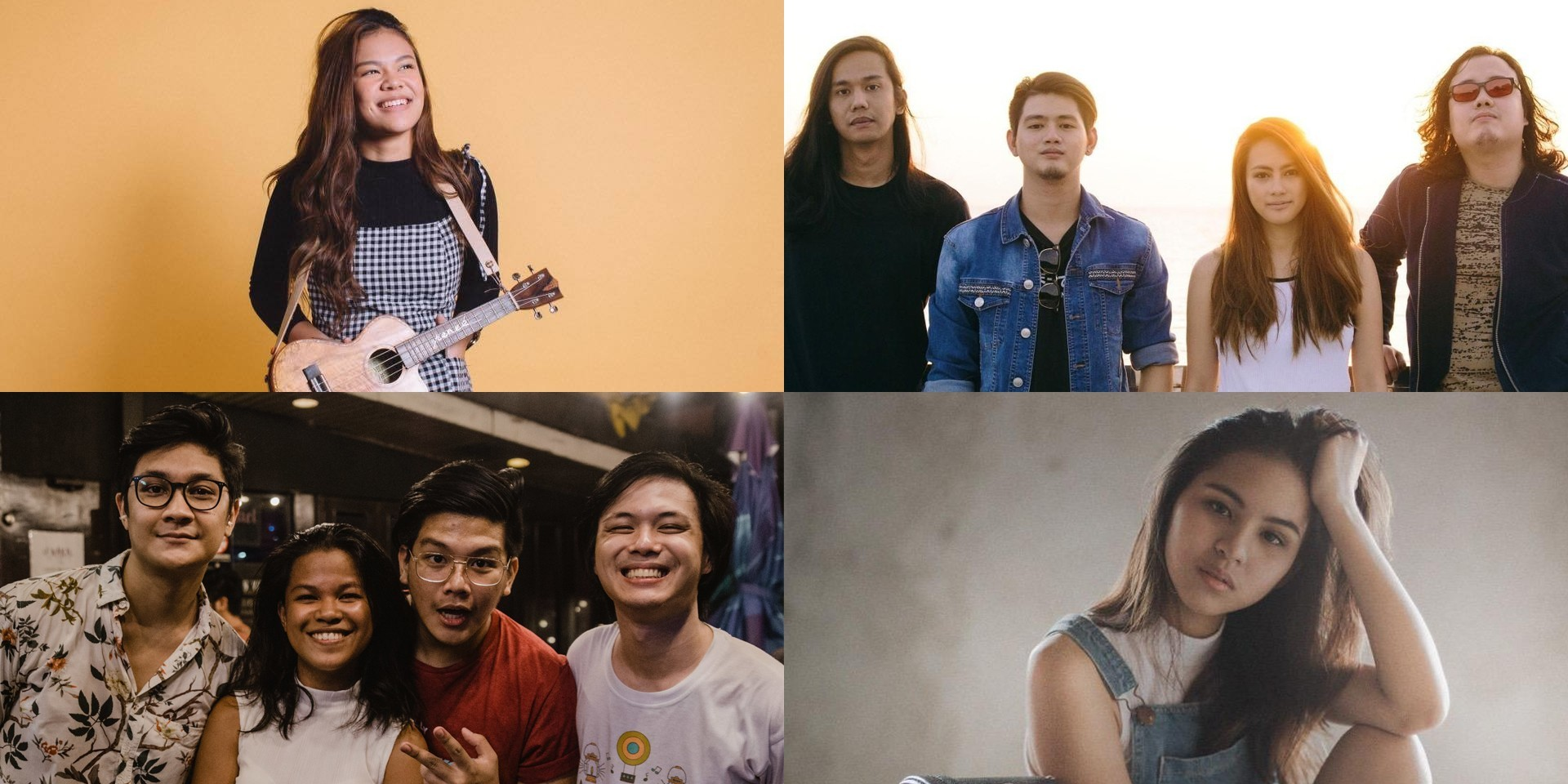 Get to know the Filipino acts performing on the Bandwagon Stage at Music Matters