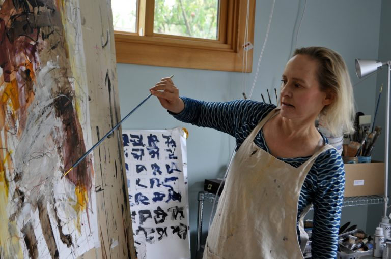 Studio Journey: Abstract painting