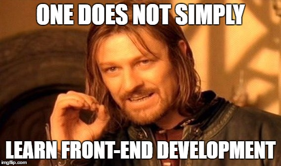 I will give you an introduction to front-end web development