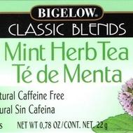 Mint Herb Tea from Bigelow