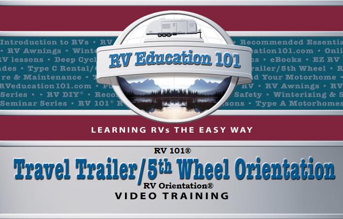 travel trailer _5th wheel walkthrough rv orientation campground setup