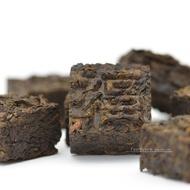 Ripened Cube Tuocha Pu-erh Mini Brick 2006 from Teavivre