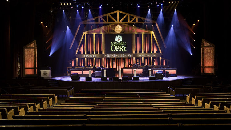 Concert at the Grand Ole Opry