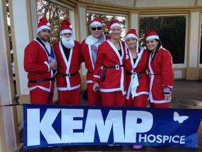 Kidderminster's Kemp hospice annual 10k Santa fun run
