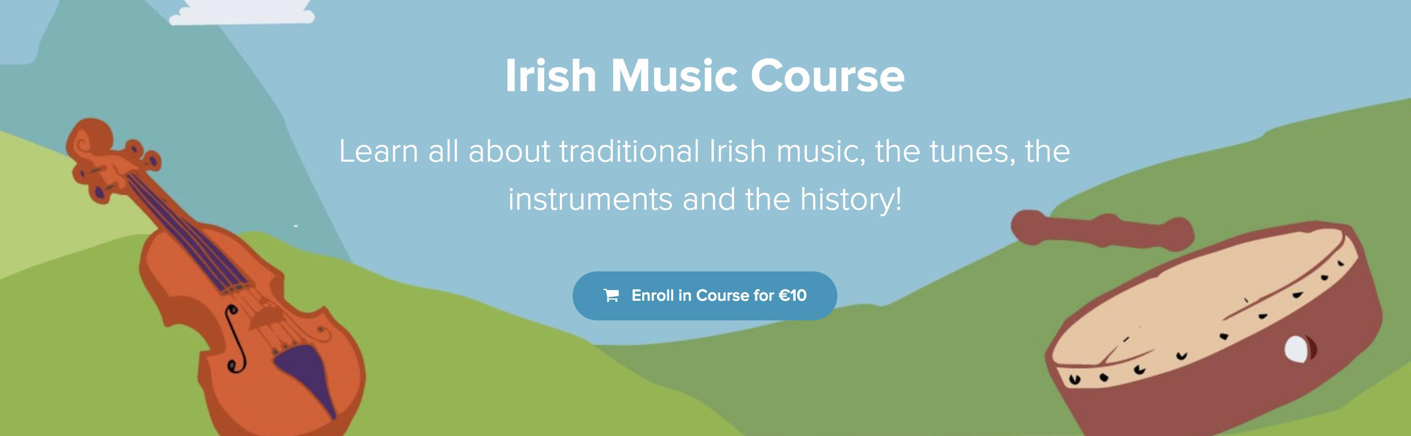 DabbledooMusic Irish Course