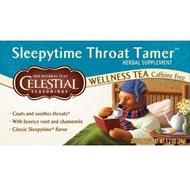 Sleepytime Throat Tamer Wellness Tea from Celestial Seasonings