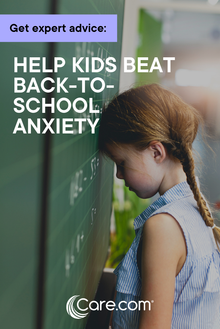 How 2 Experts Say You Can Help Your Kids Beat Back-To-School Anxiety