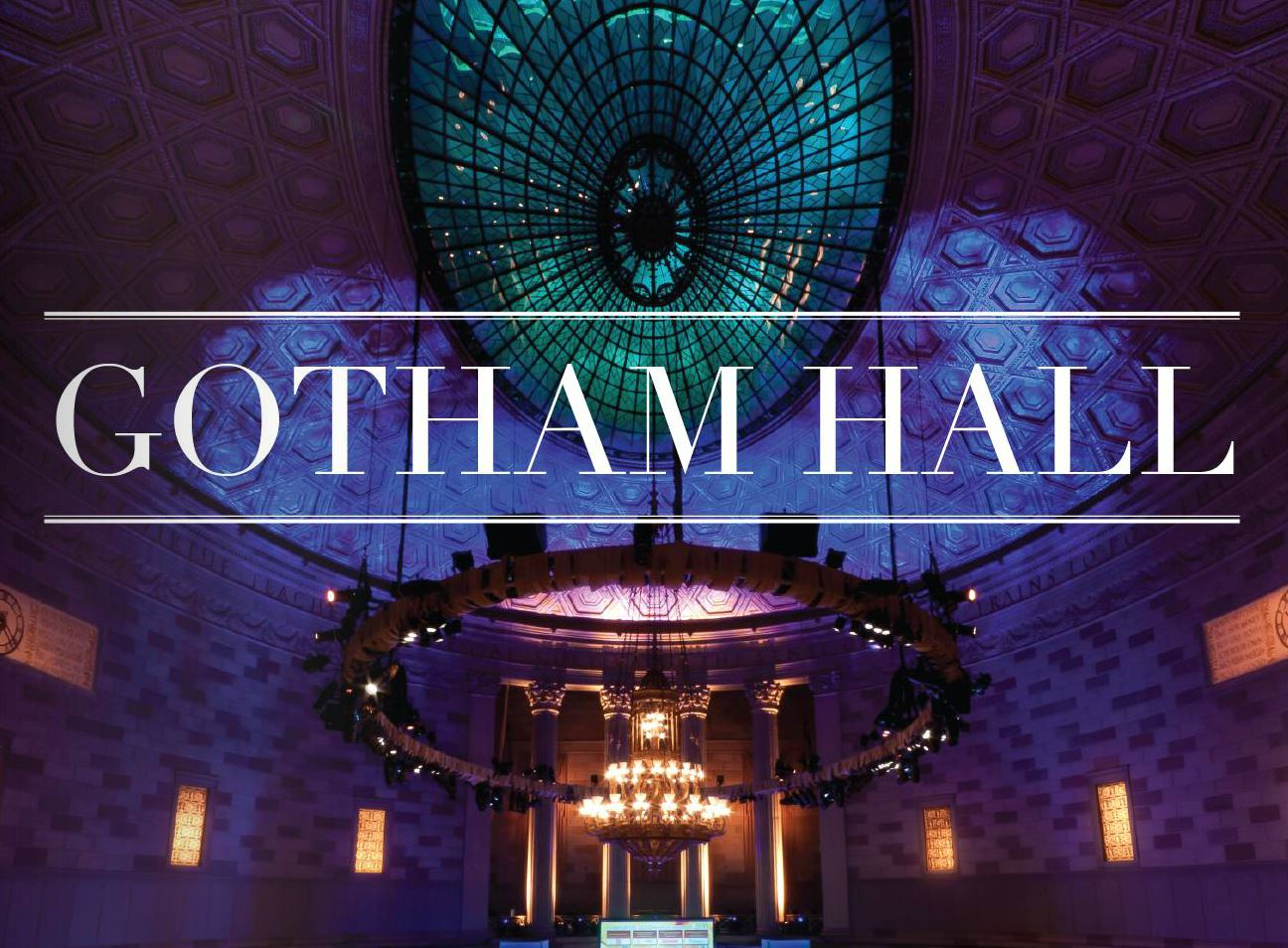 Gotham Hall Venues For Rent In New York