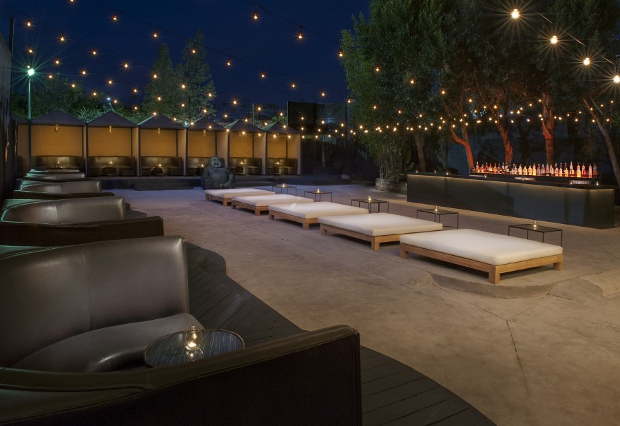 Patio Courtyard Venue For Rent In Los Angeles
