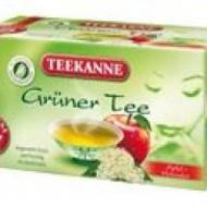 Gruner Tee Apfel - Holunder (green tea with apple & elderberries) from Teekanne