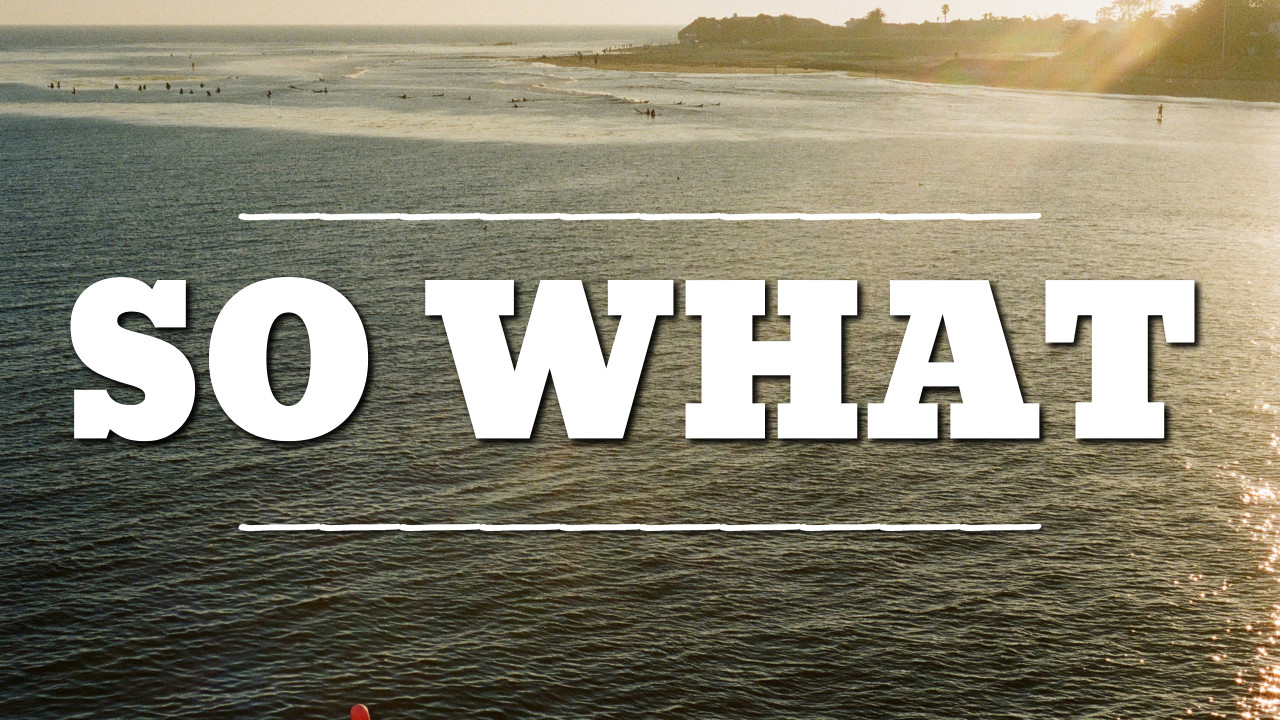 So What - thumbnail