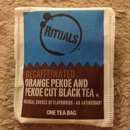 Orange Pekoe and Pekoe Cut Black tea from Rituals