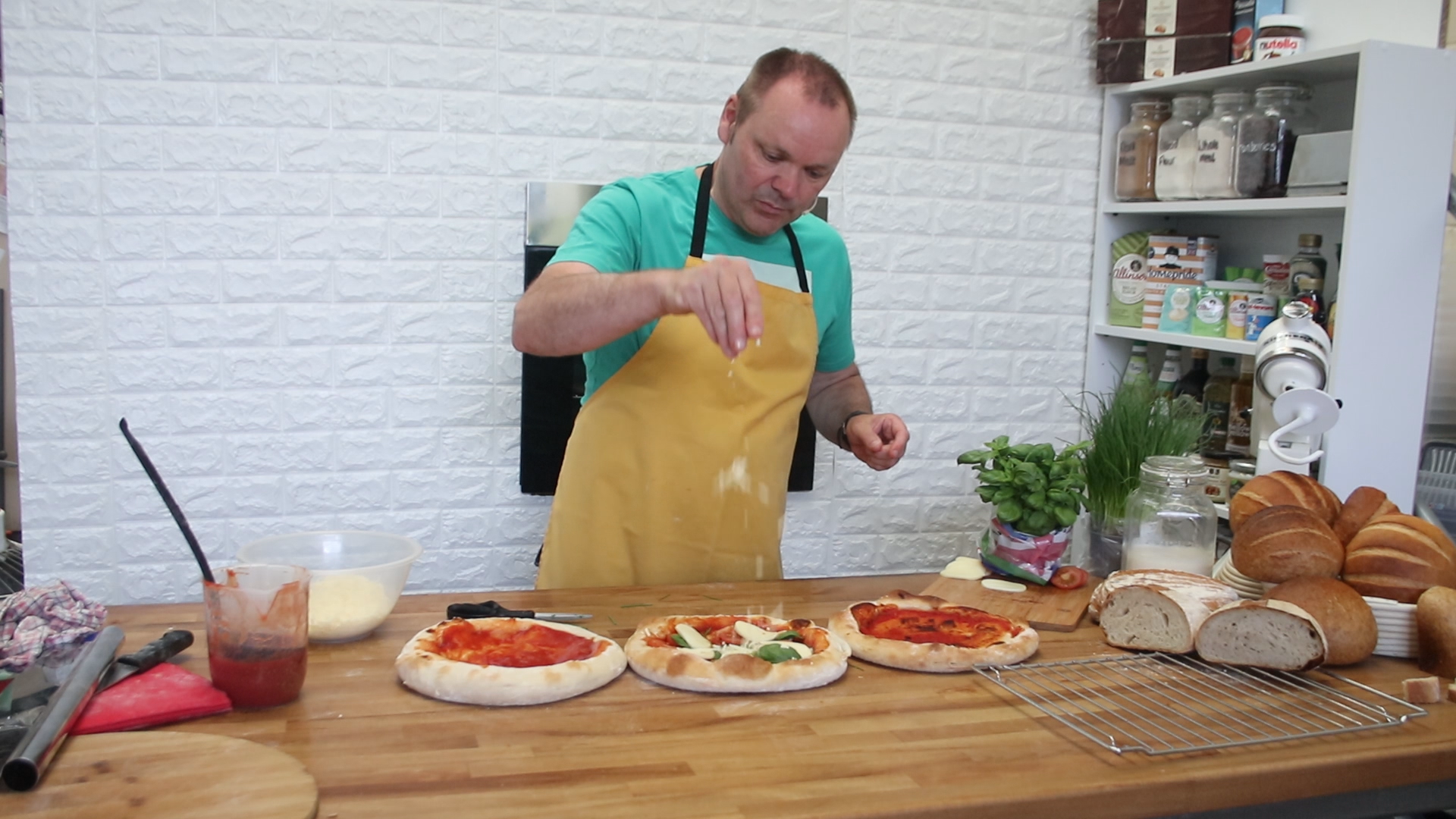 Italian bread making course